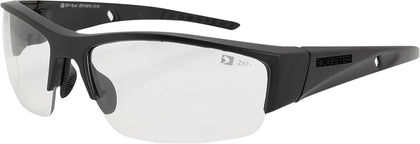 BOBSTER RYVAL SUNGLASSES BLACK W/CLEAR LENS ERYV002C
