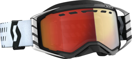 SCOTT PROSPECT SNWCRS GOGGLE BLK/WHT ENHANCER RED CHROME 272846-1007312