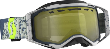 SCOTT PROSPECT SNWCRS GOGGLE GRY/DRK GREY ENHANCER YELLOW CHROME 272846-1217335