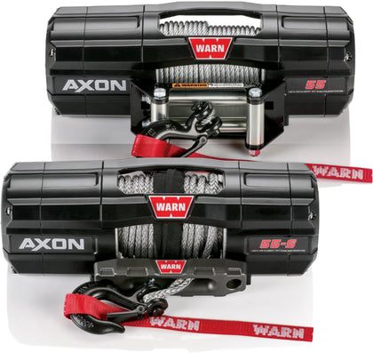 WARN AXON 5500 WIRE CABLE WINCH 101155