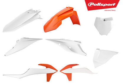 POLISPORT PLASTIC BODY KIT OEM COLOR 90808
