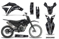 Dirt Bike Graphics Kit Decal Sticker Wrap For Apollo Orion 250RX DIGICAMO BLACK