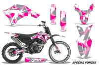Dirt Bike Graphics Kit Decal Sticker Wrap For Apollo Orion 250RX SPECIAL FORCES PINK