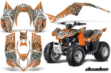 Load image into Gallery viewer, ATV Decal Graphic Kit Wrap For Arctic Cat DVX50 DVX90 Quad 2008-2017 DEADEN ORANGE-atv motorcycle utv parts accessories gear helmets jackets gloves pantsAll Terrain Depot