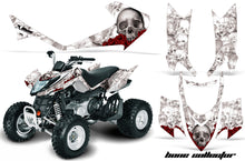 Load image into Gallery viewer, ATV Graphics Kit Quad Decal Sticker Wrap For Arctic Cat DVX400 DVX300 BONES WHITE-atv motorcycle utv parts accessories gear helmets jackets gloves pantsAll Terrain Depot