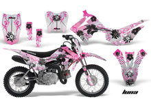 Load image into Gallery viewer, Dirt Bike Decal Graphic Kit Wrap For Honda CRF110 CRF 110 2013-2018 LUNA PINK-atv motorcycle utv parts accessories gear helmets jackets gloves pantsAll Terrain Depot