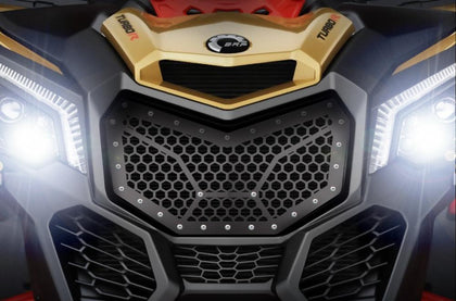 1 Piece Steel Grille CanAm Maverick X3 - HEX