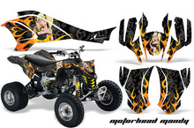 Load image into Gallery viewer, ATV Graphics Kit Quad Decal Wrap For Can-Am DS450 XMX XXC 2008-2016 MOTO MANDY BLACK-atv motorcycle utv parts accessories gear helmets jackets gloves pantsAll Terrain Depot