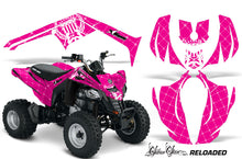 Load image into Gallery viewer, ATV Decal Graphics Kit Wrap For Can-Am DS250 DS 250 Bombardier 2006-2016 RELOADED WHITE PINK-atv motorcycle utv parts accessories gear helmets jackets gloves pantsAll Terrain Depot