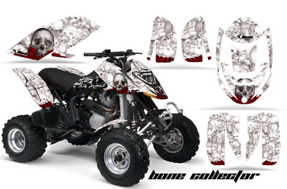 ATV Graphics Kit Decal Quad Wrap For Can-Am Bombardier DS650 DS 650 BONES WHITE-atv motorcycle utv parts accessories gear helmets jackets gloves pantsAll Terrain Depot