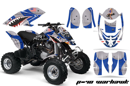ATV Graphics Kit Decal Quad Wrap For Can-Am Bombardier DS650 DS 650 WARHAWK BLUE-atv motorcycle utv parts accessories gear helmets jackets gloves pantsAll Terrain Depot