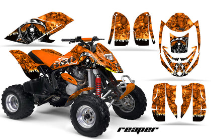 ATV Graphics Kit Decal Quad Wrap For Can-Am Bombardier DS650 DS 650 REAPER ORANGE-atv motorcycle utv parts accessories gear helmets jackets gloves pantsAll Terrain Depot