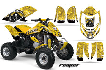 Load image into Gallery viewer, ATV Graphics Kit Decal Quad Wrap For Can-Am Bombardier DS650 DS 650 REAPER YELLOW-atv motorcycle utv parts accessories gear helmets jackets gloves pantsAll Terrain Depot