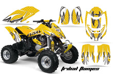 Load image into Gallery viewer, ATV Graphics Kit Decal Quad Wrap For Can-Am Bombardier DS650 DS 650 TBOMBER YELLOW-atv motorcycle utv parts accessories gear helmets jackets gloves pantsAll Terrain Depot