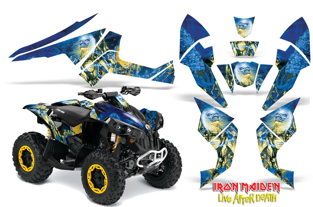 ATV Decal Graphics Kit Quad Wrap For Can-Am Renegade 500 X/R 800X/R 1000 IM LAD-atv motorcycle utv parts accessories gear helmets jackets gloves pantsAll Terrain Depot