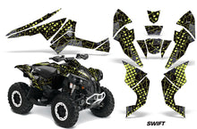 Load image into Gallery viewer, ATV Decal Graphics Kit Quad Wrap For Can-Am Renegade 500 X/R 800X/R 1000 SWIFT MANTA GREEN-atv motorcycle utv parts accessories gear helmets jackets gloves pantsAll Terrain Depot