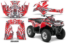 Load image into Gallery viewer, ATV Graphics Kit Decal Sticker Wrap For Can-Am Outlander-L 2014-2015 DEADEN RED-atv motorcycle utv parts accessories gear helmets jackets gloves pantsAll Terrain Depot