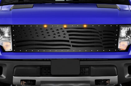 1 Piece Steel Grille for Ford Raptor SVT 2010-2014 - AMERICA WAVE