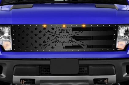 1 Piece Steel Grille for Ford Raptor SVT 2010-2014 - LIBERTY or DEATH
