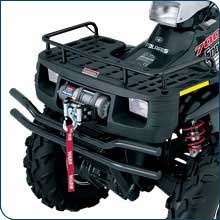 KFI Sportsman GEN4+ and GEN6 Winch Mount (2-Hole Mounted Winches) - Allterraindepot