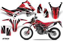 Load image into Gallery viewer, Dirt Bike Graphics Kit Decal Sticker Wrap For Honda CRF250L 2013-2016 ATTACK RED-atv motorcycle utv parts accessories gear helmets jackets gloves pantsAll Terrain Depot