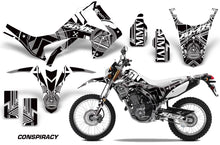 Load image into Gallery viewer, Dirt Bike Graphics Kit Decal Sticker Wrap For Honda CRF250L 2013-2016 CONSPIRACY WHITE-atv motorcycle utv parts accessories gear helmets jackets gloves pantsAll Terrain Depot