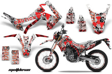 Load image into Gallery viewer, Graphics Kit Decal Sticker Wrap + # Plates For Honda CRF250L 2013-2016 MELTDOWN RED WHITE-atv motorcycle utv parts accessories gear helmets jackets gloves pantsAll Terrain Depot