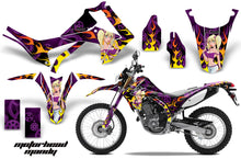 Load image into Gallery viewer, Dirt Bike Graphics Kit Decal Sticker Wrap For Honda CRF250L 2013-2016 MOTO MANDY PURPLE-atv motorcycle utv parts accessories gear helmets jackets gloves pantsAll Terrain Depot
