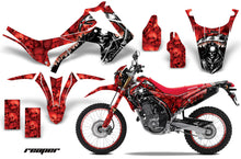 Load image into Gallery viewer, Graphics Kit Decal Sticker Wrap + # Plates For Honda CRF250L 2013-2016 REAPER RED-atv motorcycle utv parts accessories gear helmets jackets gloves pantsAll Terrain Depot