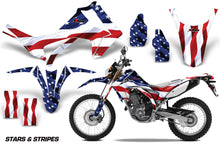 Load image into Gallery viewer, Dirt Bike Graphics Kit Decal Sticker Wrap For Honda CRF250L 2013-2016 USA FLAG-atv motorcycle utv parts accessories gear helmets jackets gloves pantsAll Terrain Depot