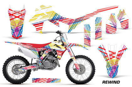 Dirt Bike Graphics Kit Decal Sticker Wrap For Honda CRF250R 2014-2017 REWIND