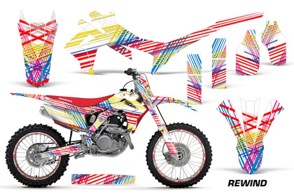Graphics Kit Decal Sticker Wrap + # Plates For Honda CRF250R 2014-2017 REWIND