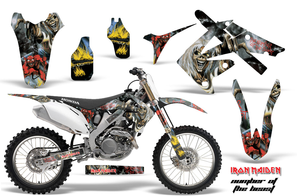 Dirt Bike Graphics Kit Decal Sticker Wrap For Honda CRF250R 2010-2013 IM NOTB-atv motorcycle utv parts accessories gear helmets jackets gloves pantsAll Terrain Depot