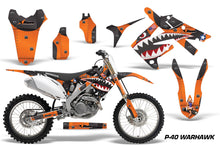 Load image into Gallery viewer, Dirt Bike Graphics Kit Decal Sticker Wrap For Honda CRF250R 2010-2013 WARHAWK ORANGE-atv motorcycle utv parts accessories gear helmets jackets gloves pantsAll Terrain Depot