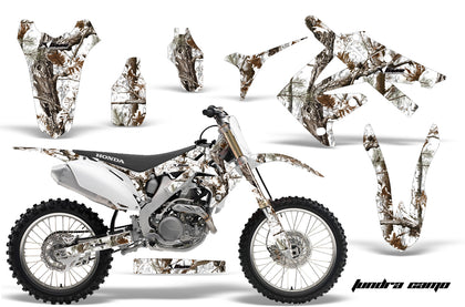 Dirt Bike Graphics Kit Decal Sticker Wrap For Honda CRF250R 2010-2013 TUNDRA CAMO