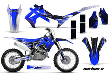 Load image into Gallery viewer, Dirt Bike Graphics Kit Decal Sticker Wrap For Honda CRF250R 2014-2017 CARBONX BLUE-atv motorcycle utv parts accessories gear helmets jackets gloves pantsAll Terrain Depot