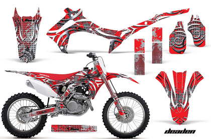 Dirt Bike Graphics Kit Decal Sticker Wrap For Honda CRF250R 2014-2017 DEADEN RED