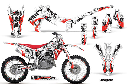 Graphics Kit Decal Sticker Wrap + # Plates For Honda CRF250R 2014-2017 EXPO RED