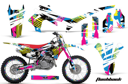 Graphics Kit Decal Sticker Wrap + # Plates For Honda CRF250R 2014-2017 FLASHBACK