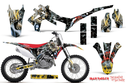 Dirt Bike Graphics Kit Decal Sticker Wrap For Honda CRF250R 2014-2017 IM NOTB