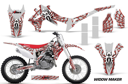 Dirt Bike Graphics Kit Decal Sticker Wrap For Honda CRF250R 2014-2017 WIDOW RED WHITE