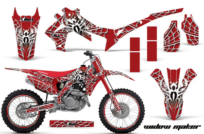 Graphics Kit Decal Sticker Wrap + # Plates For Honda CRF250R 2014-2017 WIDOW WHITE RED
