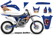 Load image into Gallery viewer, Dirt Bike Graphics Kit Decal Sticker Wrap For Honda CRF450R 2005-2008 VEGAS BLUE-atv motorcycle utv parts accessories gear helmets jackets gloves pantsAll Terrain Depot