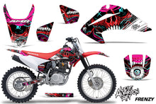 Load image into Gallery viewer, Dirt Bike Graphics Kit Decal Wrap For Honda CRF150 CRF230F 2003-2007 FRENZY RED-atv motorcycle utv parts accessories gear helmets jackets gloves pantsAll Terrain Depot