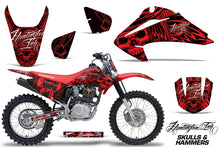 Load image into Gallery viewer, Graphics Kit Decal Wrap + # Plates For Honda CRF150 CRF230F 2003-2007 HISH RED-atv motorcycle utv parts accessories gear helmets jackets gloves pantsAll Terrain Depot