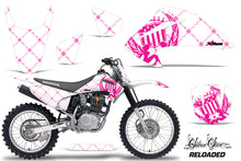 Load image into Gallery viewer, Graphics Kit Decal Wrap + # Plates For Honda CRF150 CRF230F 2003-2007 RELOADED PINK WHITE-atv motorcycle utv parts accessories gear helmets jackets gloves pantsAll Terrain Depot