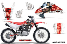 Load image into Gallery viewer, Dirt Bike Graphics Kit Decal Wrap For Honda CRF150 CRF230F 2003-2007 HATTER RED WHITE-atv motorcycle utv parts accessories gear helmets jackets gloves pantsAll Terrain Depot