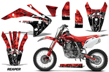 Load image into Gallery viewer, Dirt Bike Graphics Kit Decal Sticker Wrap For Honda CRF150R 2017-2018 REAPER RED-atv motorcycle utv parts accessories gear helmets jackets gloves pantsAll Terrain Depot