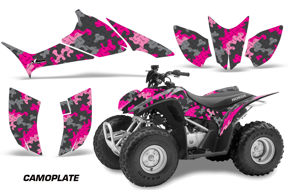 ATV Graphics Kit Quad Decal Sticker Wrap For Honda TRX90 2006-2018 CAMOPLATE PINK-atv motorcycle utv parts accessories gear helmets jackets gloves pantsAll Terrain Depot