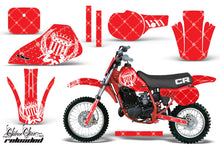 Load image into Gallery viewer, Dirt Bike Graphics Kit Decal Sticker Wrap For Honda CR60 CR 60 1984-1985 RELOADED WHITE RED-atv motorcycle utv parts accessories gear helmets jackets gloves pantsAll Terrain Depot